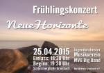 Plakat Frühlingskonzert 2015