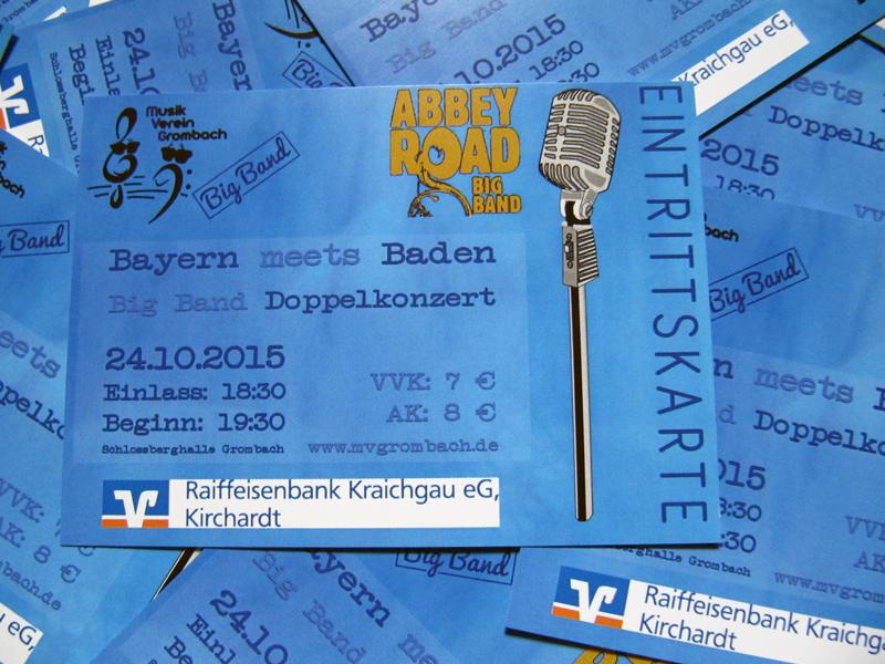 Eintrittskarten Big Band Konzert