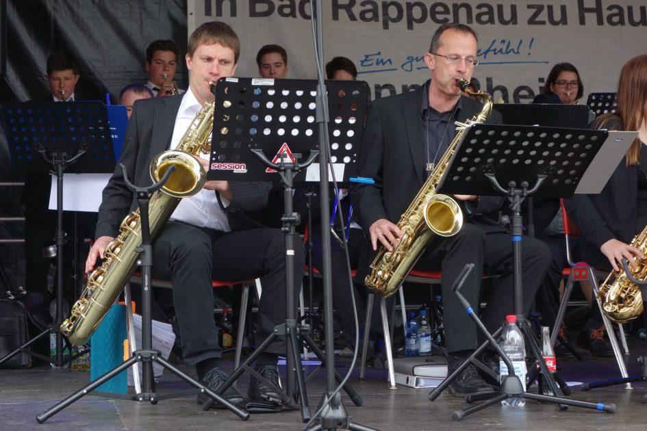 MVG Big Band beim Stadtfest 2016