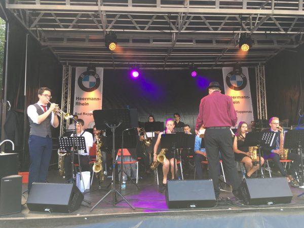 Big Band beim Stadtfest in Bad Rappenau