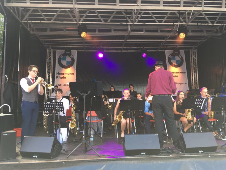 Big Band beim Stadtfest in Bad Rappenau