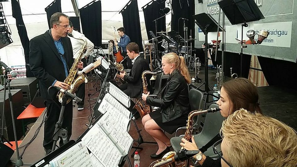 MVG Big Band beim Oktoberfest 2017 in Bad Rappenau