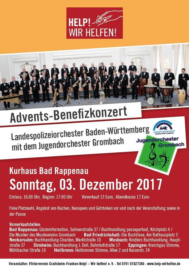 Benefizkonzert mit dem LPO Baden-Württemberg